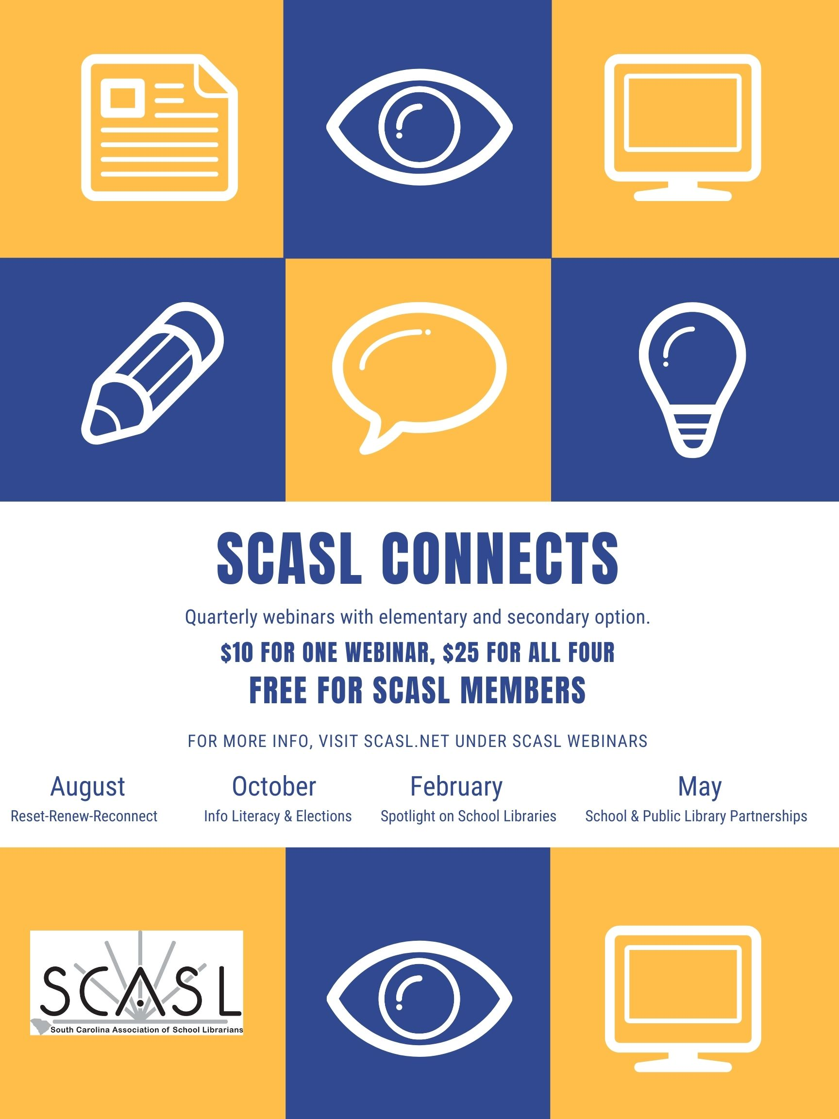 SCASL Connect Webinar Series